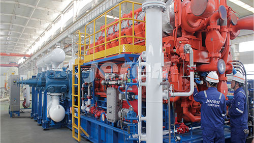 Gas Injection for Gas Storage