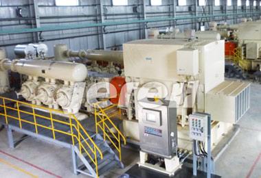 中国最大功率的电驱往复式压缩机组;功率达4500kw