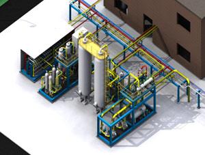 膜分离法脱碳技术
