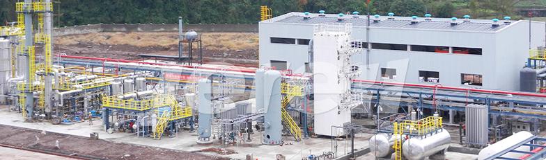 固定式LNG液化工厂